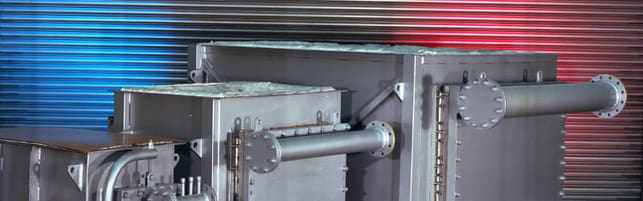 Header image of a Cross Flow Heat Exchanger