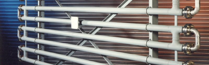 Header image of a Double Pipe Heat Exchanger