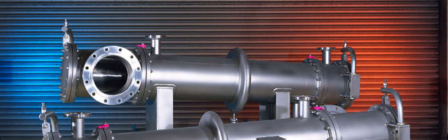 Header image of a polished heat exchangers